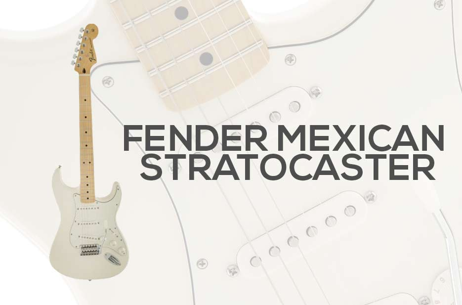Fender Mexican Stratocaster Guitar Review 2019