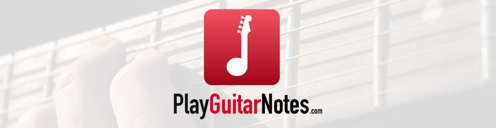 Play Guitar Note Banner header