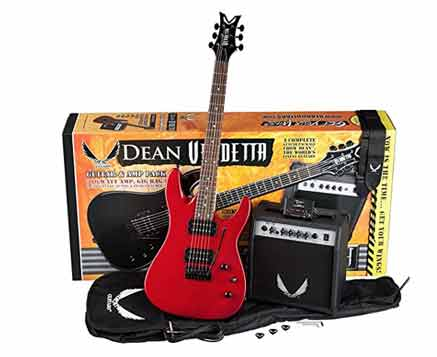 dean-electric-guitar-starter-pack-with-vendetta-xmt-metalic-red-10-watt-amp-gig-bag-cord-strap-picks