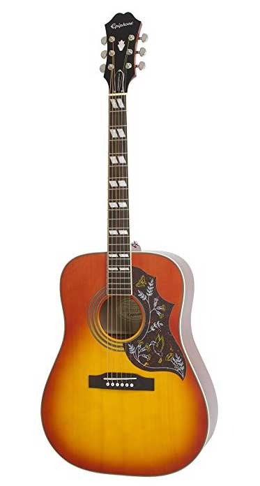 Epiphone-HUMMINGBIRD-PRO-Solid-Top-Acoustic