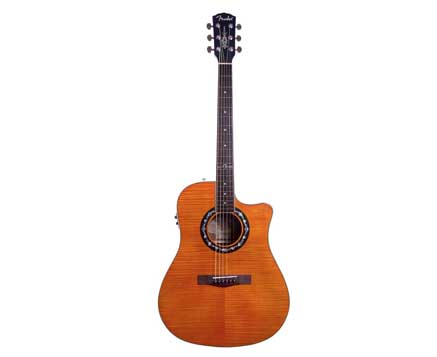 Fender-T-Bucket-300CE-Dreadnought-Cutaway-Flame-Maple-Acoustic-Electric-Guitar