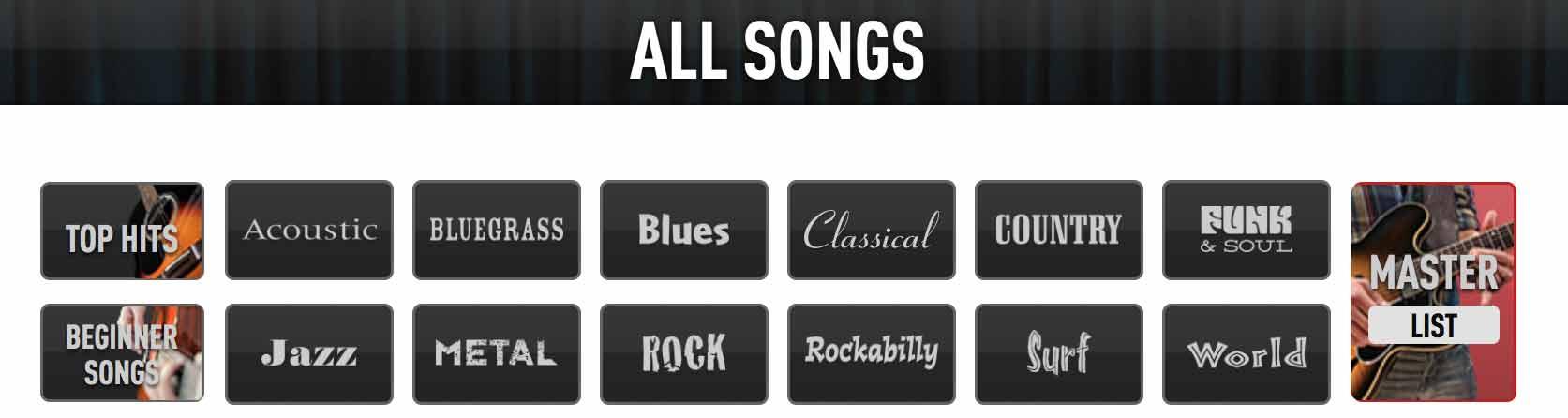 guitar-songs-styles-