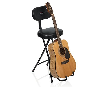 stools-with-backs-and-guitar-stand