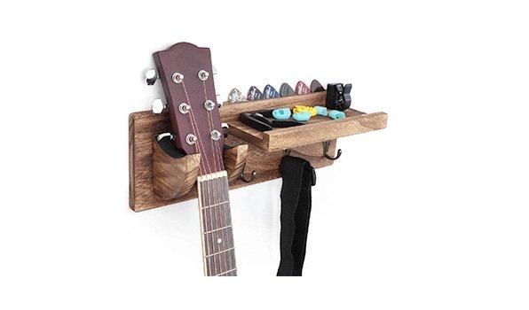 Bikoney-Guitar-Wall-Hanger-with-pick-holder